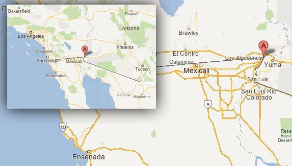 Los Algodones Dentists Best Dental Price Guaranteed - Heat map of us dentists