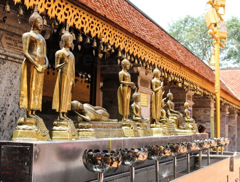 Wat Prathat at Doi Suthep, Chiang Mai