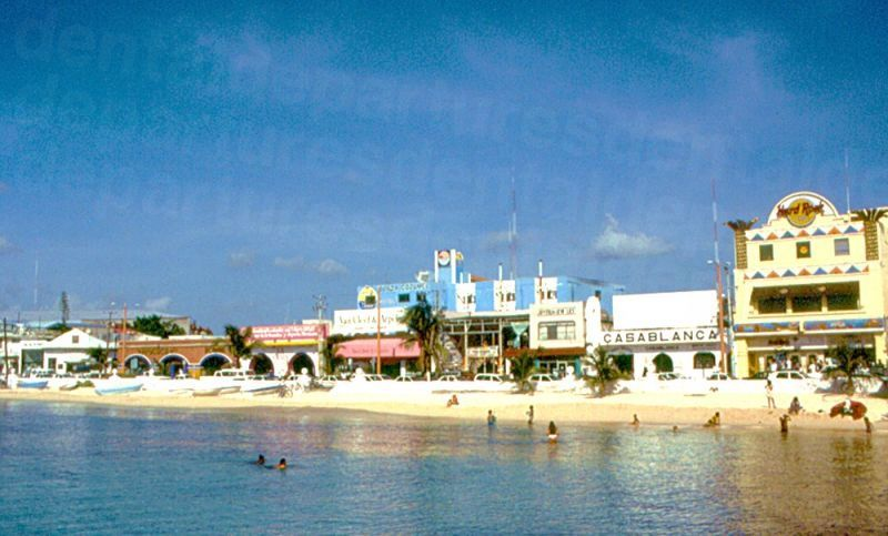 Cozumel beachfront
