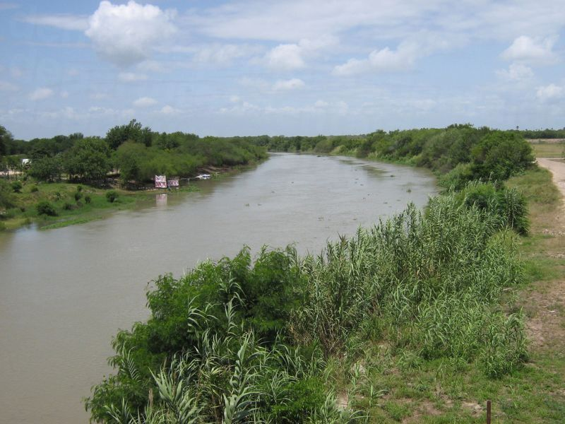 Rio Grande at Progreso Lakes