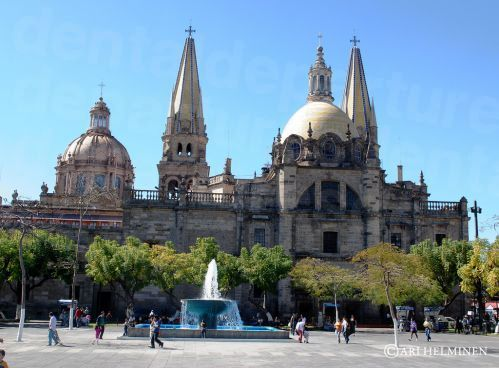 Guadalajara Cathedral by Day