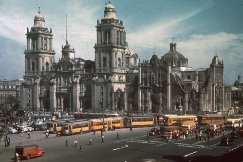 Metropolian Cathedral Mexico City DF